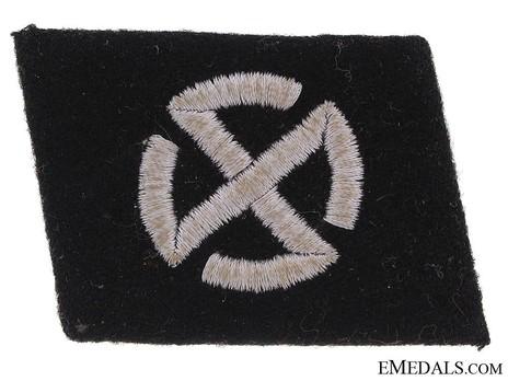 Waffen-SS 'Nordland' Division Collar Tab Obverse