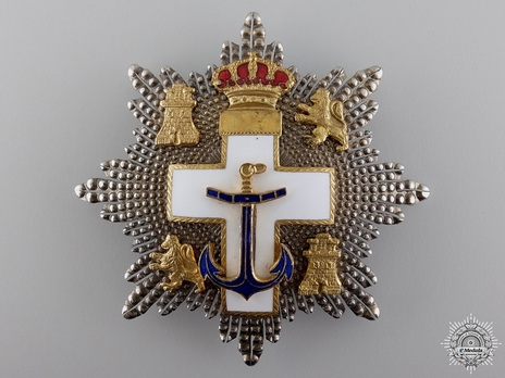 2nd Class Breast Star (white distinction) Obverse