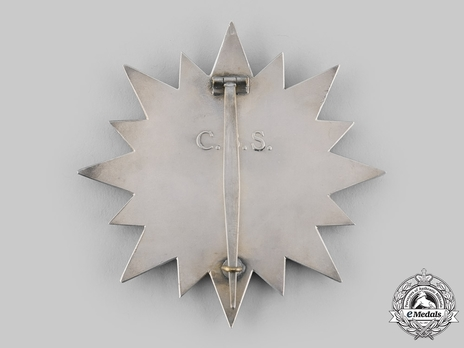 Order of the Burning Spear, Chief Breast Star Reverse
