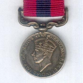 Miniature Silver Medal (1937-1948) Obverse
