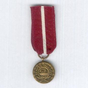 Miniature Bronze Medal Obverse