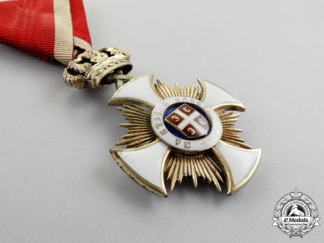 Order of the Star of Karageorg, Civil Division, IV Class Obverse