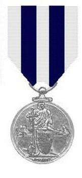 Silver Medal (for distinguished service) Obverse