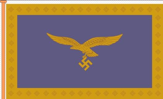 Luftwaffe Vehicle Flag for Commanding Generals Obverse