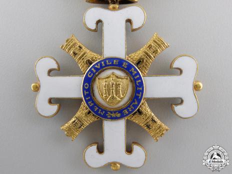 Order of San Marino, Type II, Officer Reverse