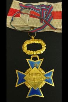 Order of Military Merit, Commander Reverse