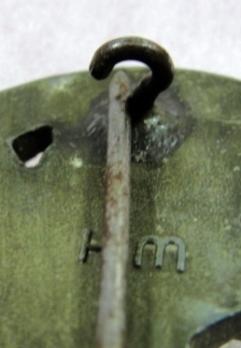 Luftwaffe Flak Badge, by W. Hobacher Detail