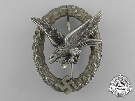 Air Gunner & Flight Engineer Badge, by C. E. Juncker (in tombac) Obverse