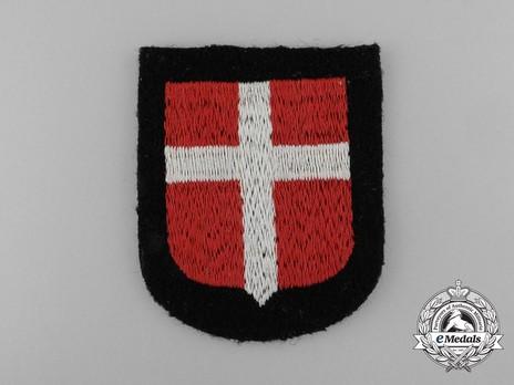 Waffen-SS Danish Volunteer Arm Shield Obverse