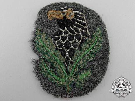 Sniper Badge, III Class Reverse
