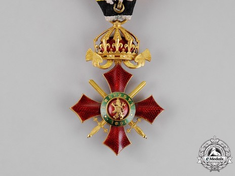 Order of Military Merit, IV Class Reverse