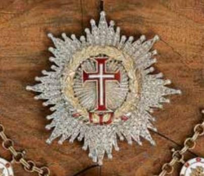 Supreme Order of Christ, Breast Star Obverse