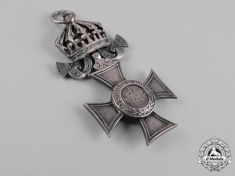 Order of St. Alexander, Type II, VI Class (with crown) Obverse