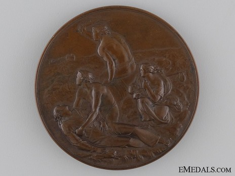 Bronze Medal (for gallantry, 1854-1901) Reverse