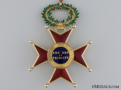 Order of St. Gregory the Great Commander (Civil Division) (with gold) Reverse