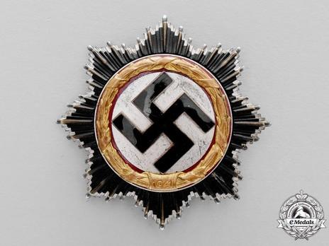 "German Cross, in Gold, by Gebr. Godet (""21"", tombac) Obverse"
