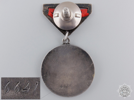 Medal for Meritorious Service in Battle Reverse