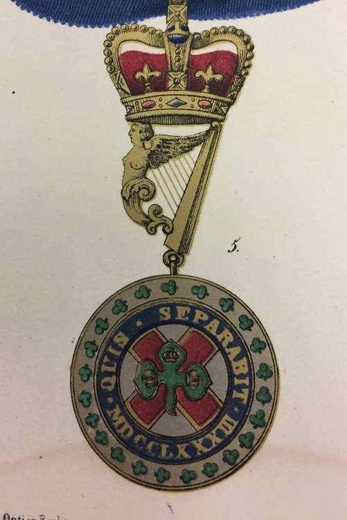 St+patrick+collar+badge