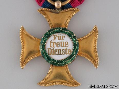 I Class Gold Cross (1858-1918) Obverse