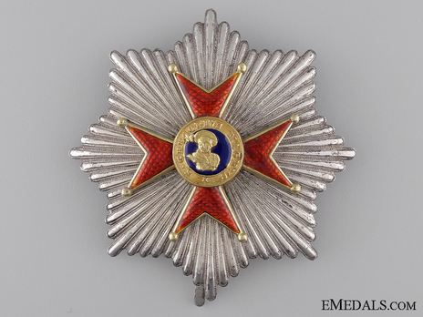 Grand Cross Breast Star (with silver and gold) Obverse