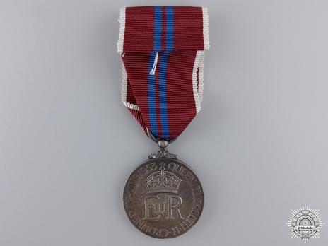 Queen Elizabeth II Coronation Medal, 1953 Coronation Medal Reverse