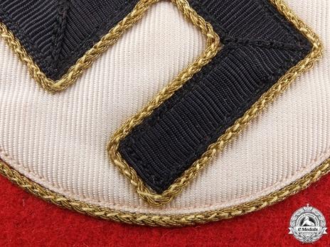 NSDAP Leiter einer Hauptstelle Type II Reich Level Armband Detail