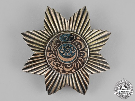 Order of Noble Bukhara, I Class, III Grade (version 2) Obverse