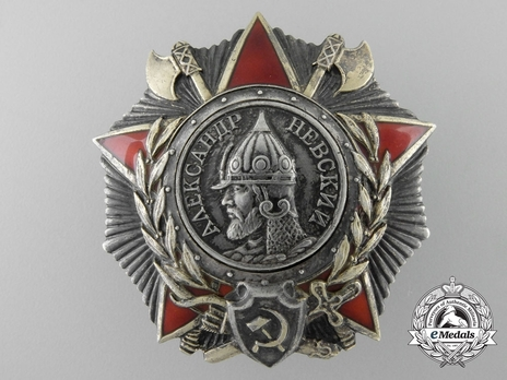 Order of Alexander Nevsky Medal Obverse