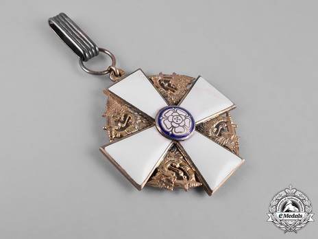 Order of the White Rose, Type I, Civil Division, II Class Commander Cross Obverse