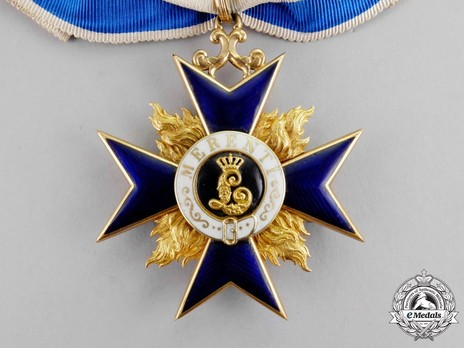Order of Military Merit, II Class Cross Obverse
