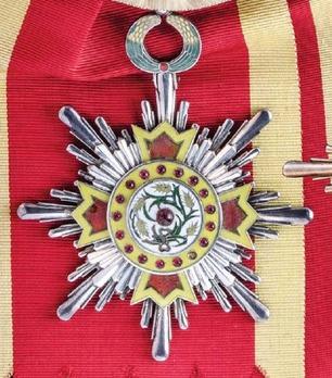 Order of Illustrious Brilliant Golden Grain, I Class Sash Badge