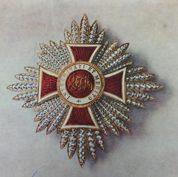Order of Leopold, Type III, Civil Division, I Class Breast Star Obverse