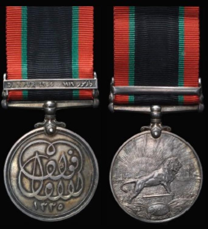 Khedives+sudan+medal+darfur+1916+clasp+me102