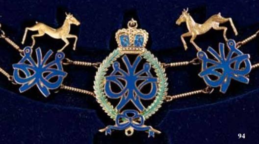 Most Illustrious Order of the Crown of Kelantan, Knight Grand Commander Collar