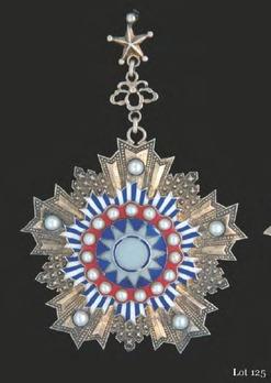 Order of the Brilliant Jade, I Class Sash Badge