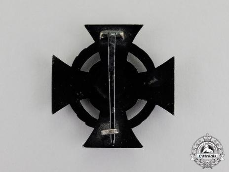 I Class Cross (Blackened iron) Reverse