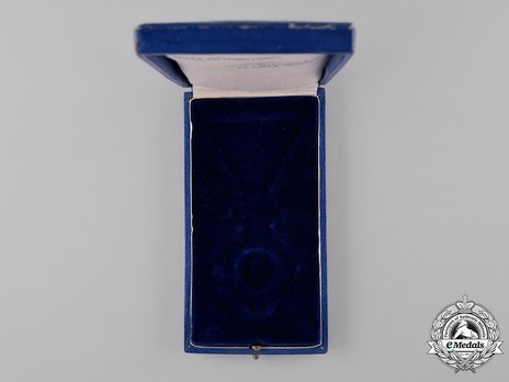 Order of the Yugoslav Crown, Knight's Cross Case of Issue