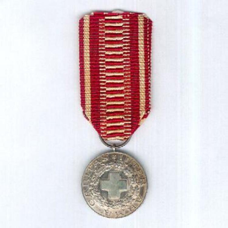 Silver medal obv