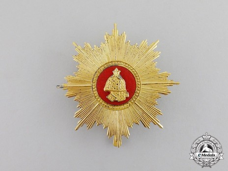 Order of Military Merit, Type IV, II Class Breast Star