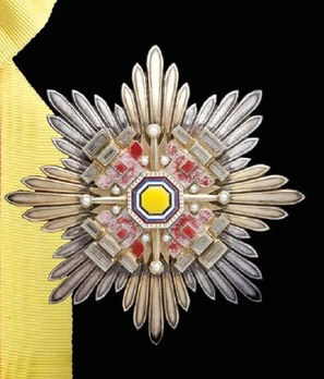 Order of the Pillars of the State, I Class Grand Cordon Breast Star