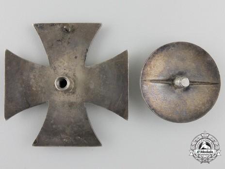 Iron Cross I Class, by Gebrüder Godet (L/50, screwback) Reverse