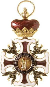 Order of the Redeemer, Grand Officer Reverse