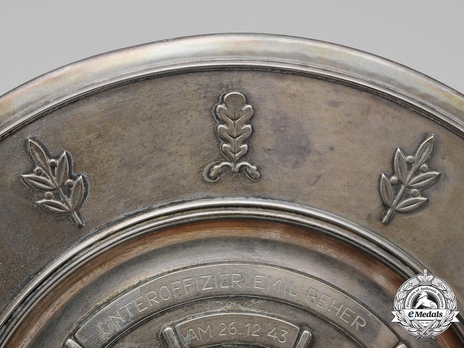 Luftwaffe Honour Salver Obverse Detail