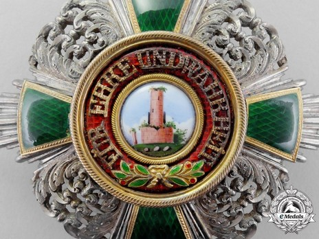 Commander Breast Star (in silver and silver gilt) Obverse Detail