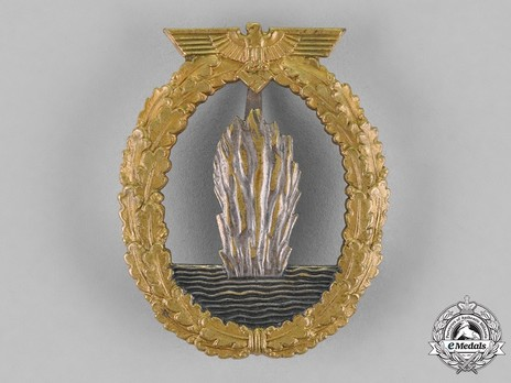 Minesweeper War Badge, by R. Karneth (in tombac) Obverse