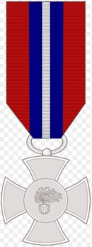 Cross of Merit of the Carabinieri, in Silver Obverse