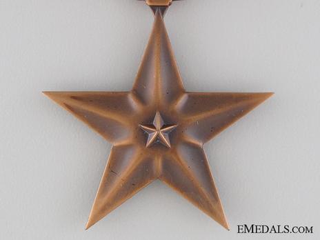 Bronze Star Obverse