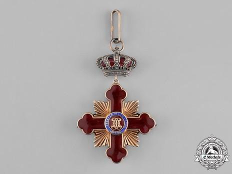 Order of Carol I, Commander's Cross Obverse