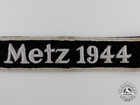 Metz 1944 Cuff Title Obverse