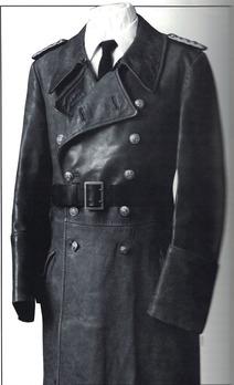 Kriegsmarine Leather Greatcoat Obverse